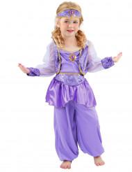 Costume da danzatrice orientale lilla per bambina