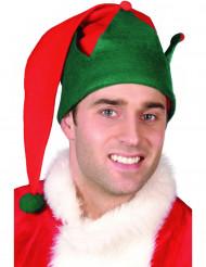 Berretto da elfo di Natale per adulto