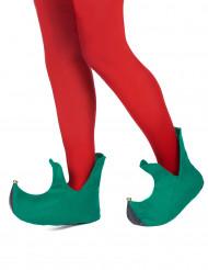 Scarpe natalizie da elfo per adulto