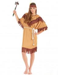 Costume da indiana con frange donna