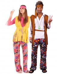 Costume da hippy per coppia