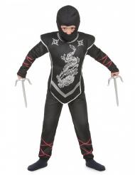 Costume ninja con passamontagna per bambino
