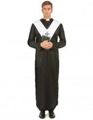 Costume nero da monaco per adulto