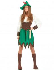 Costume ragazza dei boschi da donna