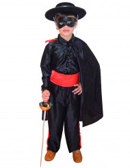 Costume carnevale Zorro bambino