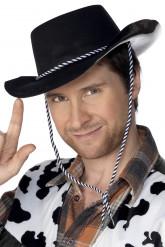 Cappello nero da cowboy
