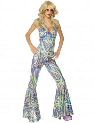 Costume per donna camaleonte disco