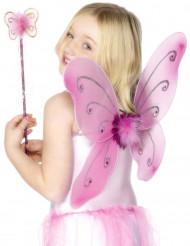 Kit farfalla rosa da ragazza