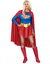 Costume da Supergirl™ con mantello donna. Taglie disponibili 77474fa3b72