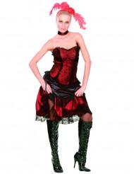 Costume stile saloon cabaret da donna