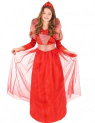 Costume da regina medievale per ragazza