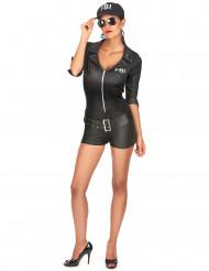 Costume donna da agente FBI sexy