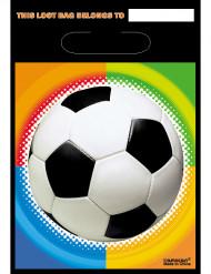 Lotto da 8 sacchetti calcio