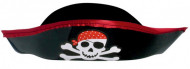 Cappello da pirata con teschio per bambino