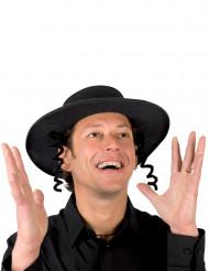 Cappello nero da rabbino
