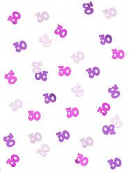 Coriandoli rosa con età