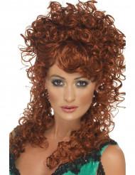 Parrucca riccia e rossa da donna