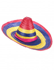 Sombrero multicolore messicano per adulto