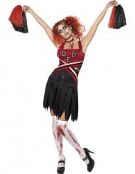 Costume zombie per ragazza pon pon