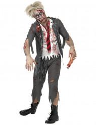Costume scolaro zombie uomo Halloween