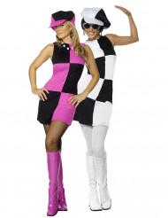 Costume di coppia disco per ragazze