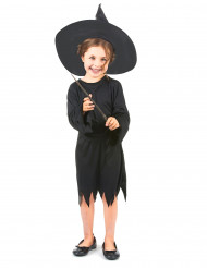 Costume da bambina strega di Halloween