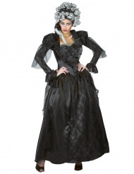 Costume da donna contessa dark Halloween