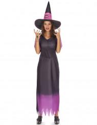 Costume da strega viola