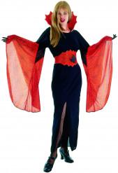 Costume da donna vampiro per Halloween