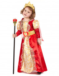 Costume regina per bambina
