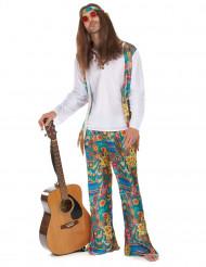 Completo hippy anni '70 uomo