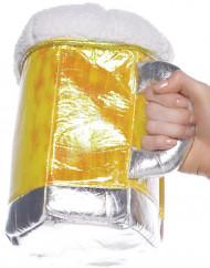 Borsa a forma di boccale di birra