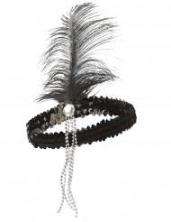 Fascia nera modello charleston