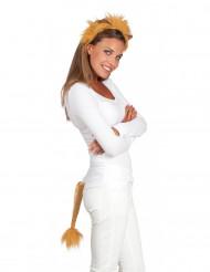 Set costume da leone unisex