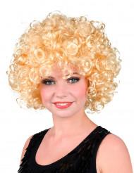 Parrucca donna riccia bionda