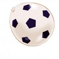 8 palloncini gioco calcio