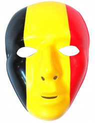 Maschera con bandiera Belgio