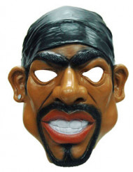 Maschera da rapper per adulto