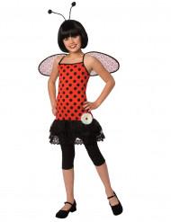 Costume con accessori coccinella per bambina