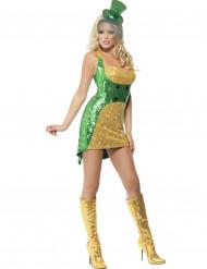 Costume sexy folletto irlandese per donna