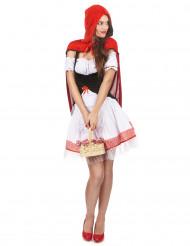 Travestimento cappuccetto rosso per donna
