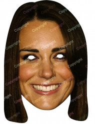 Maschera di carta di Kate Middleton