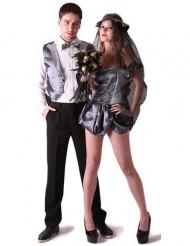 Costume di coppia sposi gotici per adulto