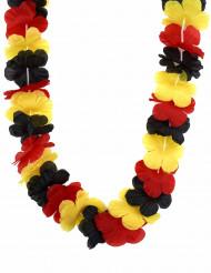 Collana hawaiana con i colori della Germania