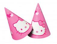6 cappellini rosa Hello Kitty™