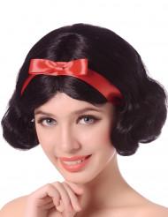 Parrucca nera corta per donna