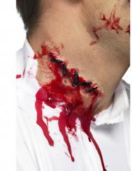 Trucco da ferita per il collo