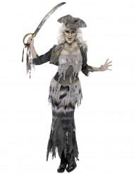 Costume da pirata zombie per donna