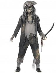 Costume da pirata fantasma di Halloween per uomo