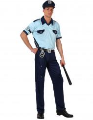 Costume da poliziotto blu per adulto